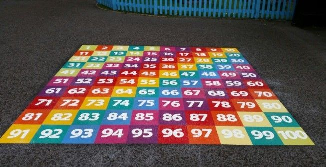 Thermoplastic Number Squares
