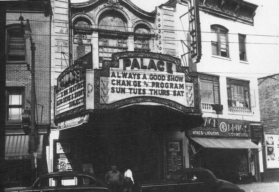Palace Theater In Jersey City 1940 S Photo Courtesy Of George Kierman Jersey City Drive In Theater City