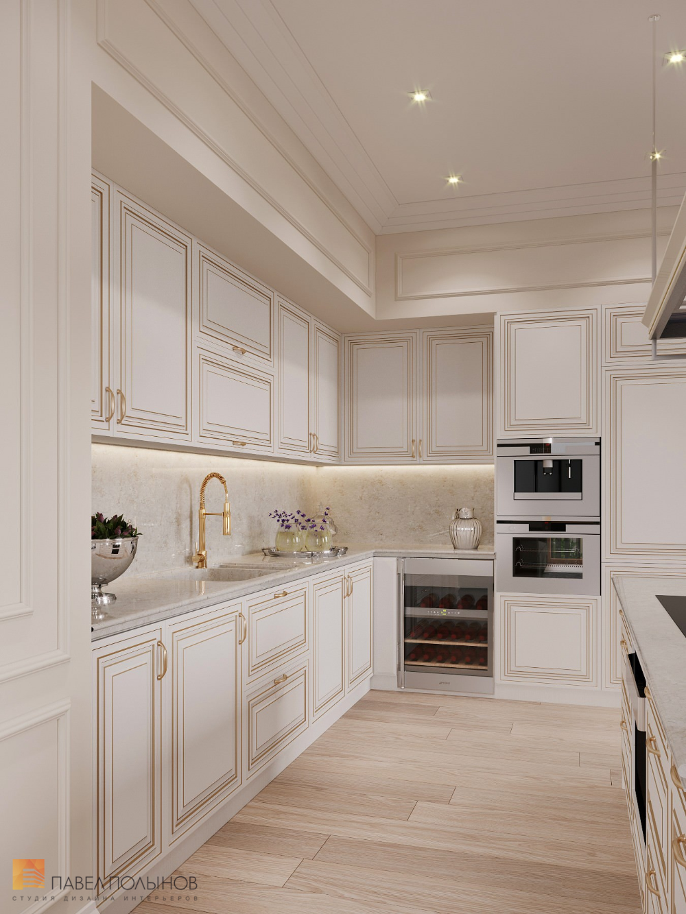 Фото: Интерьер кухни - Квартира в стиле современно