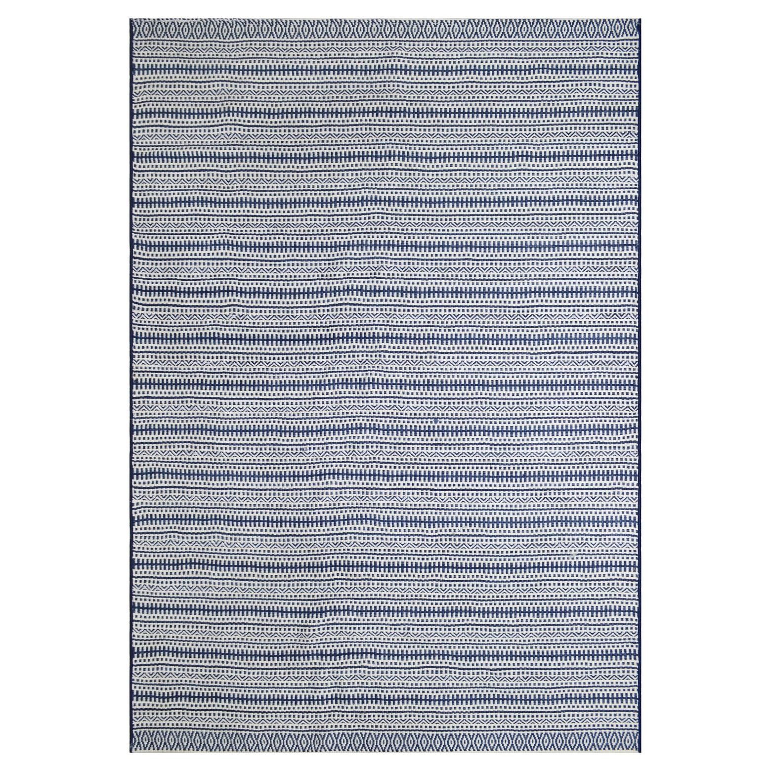 Make Your Outdoor Living Space Feel As Comfortable As Indoors With The Outdoor Rug In Pattern Stripe Blue From Thresho Blue Outdoor Rug Outdoor Rugs Patio Rugs