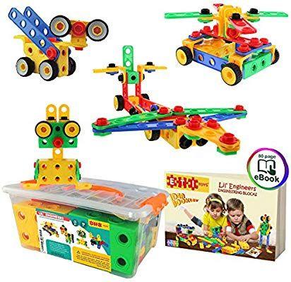 ETI Toys STEM Learning Original 101 Piece Educational ...