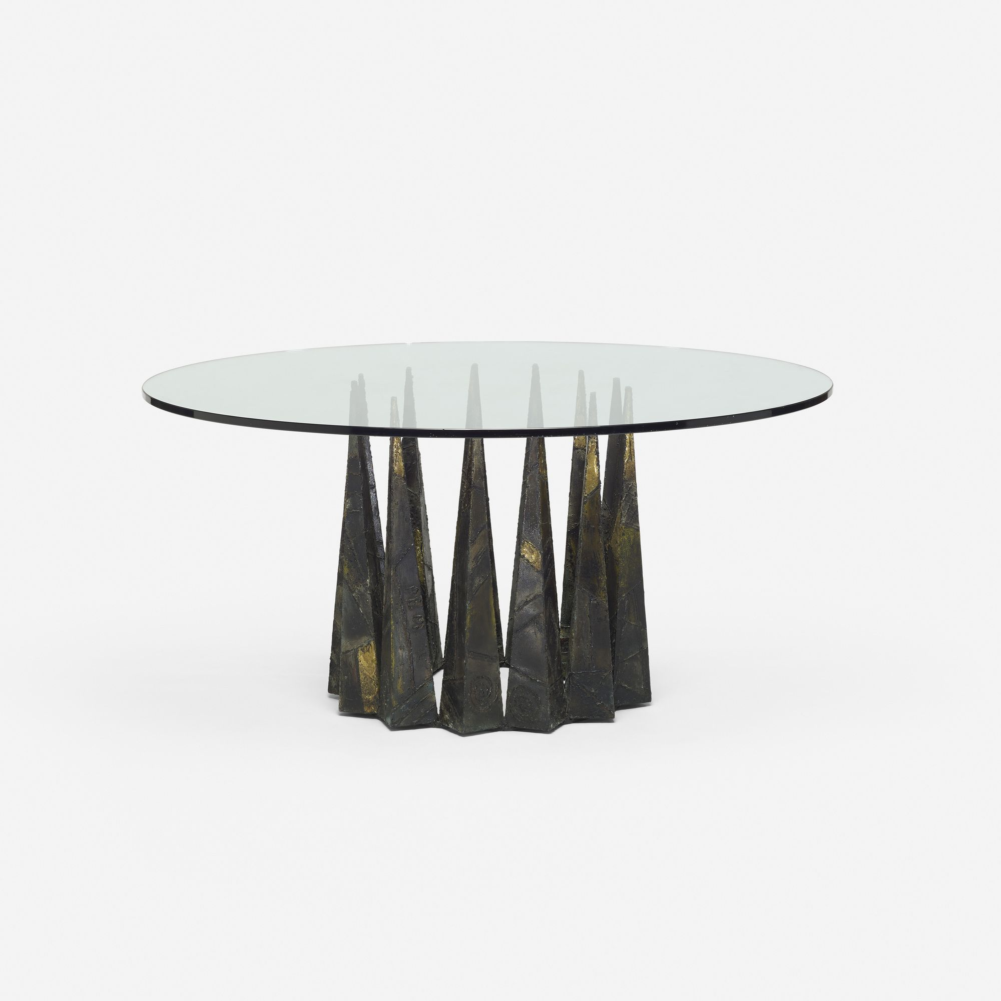 Lot 168 Paul Evans Dining Table 1967 Welded And Enameled Steel