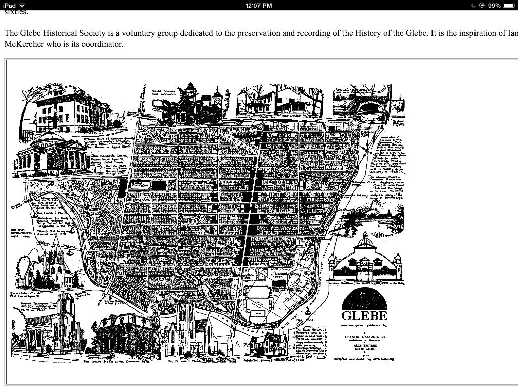 The glebe city photo city aerial