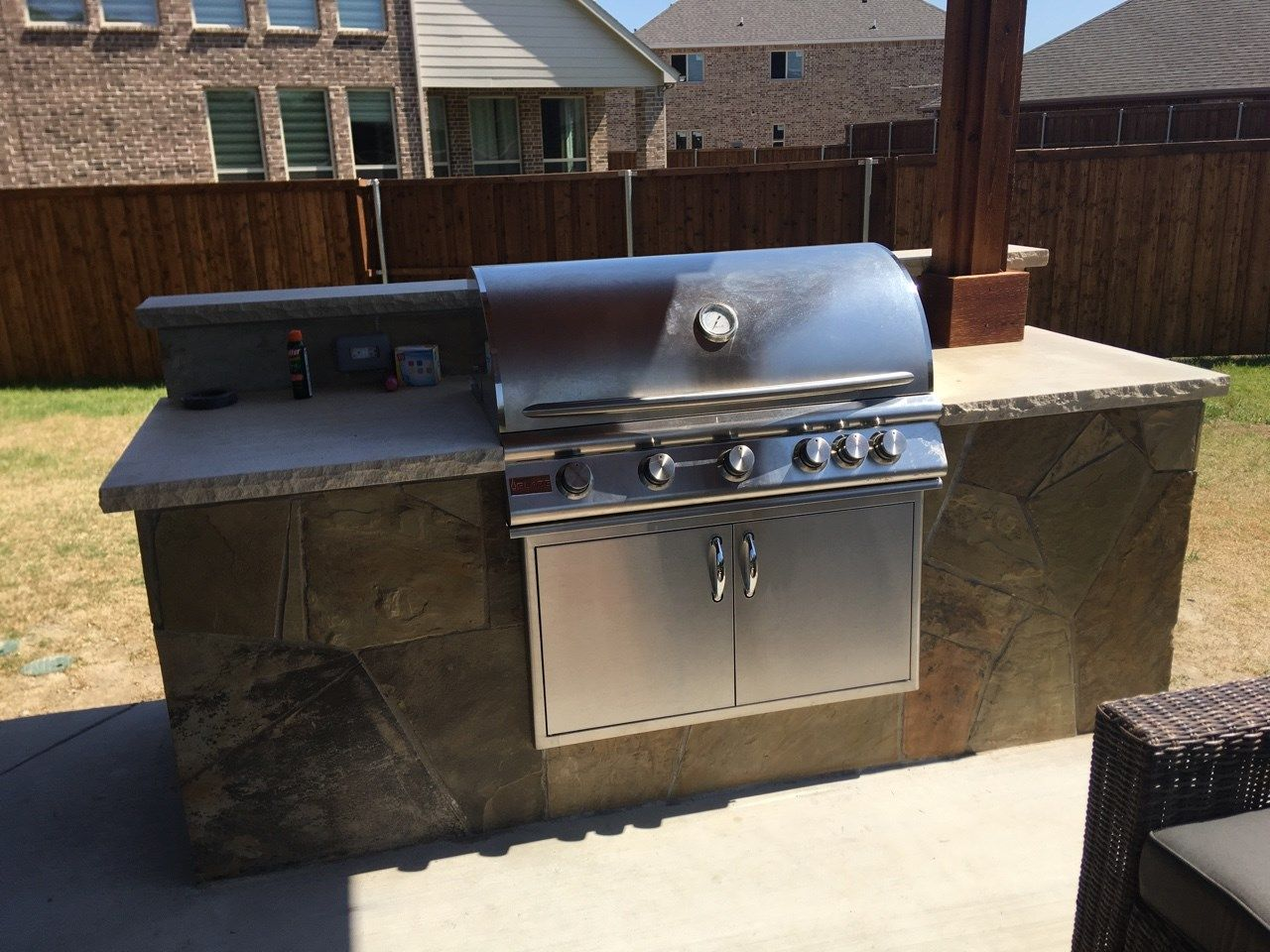 Pin By Beautiful Backyard Living On Stone Work In Frisco Plano Little Elm Mckinney Allen And All North Dallas Areas Backyard Living Beautiful Backyards Outdoor Kitchen