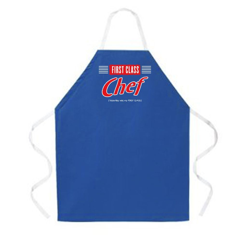 Attitude Aprons First Class Chef