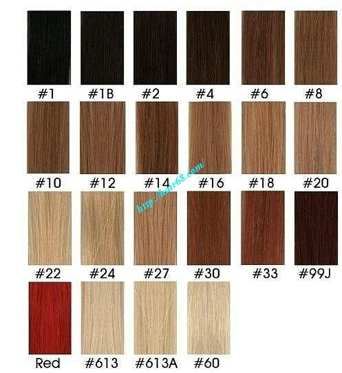 Pin by hair extensions on hair extensions pinterest hair capelli extensions international colour chart clip ins and tape extensions pmusecretfo Choice Image