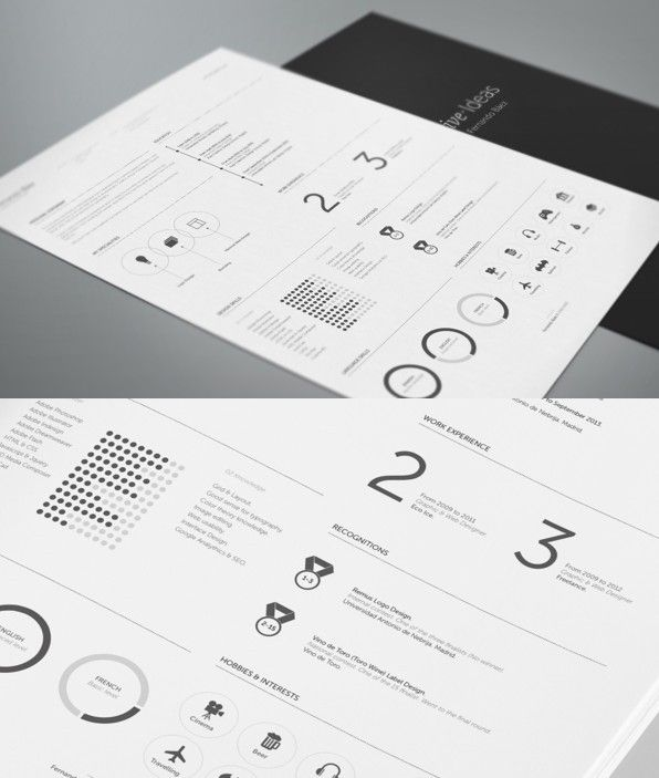 Free Resume Template By Fernando Bez  Cv    Fashion