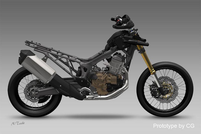 2016 Honda Africa Twin Development Review - Engine / Frame ...