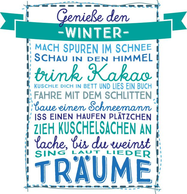 Winter …