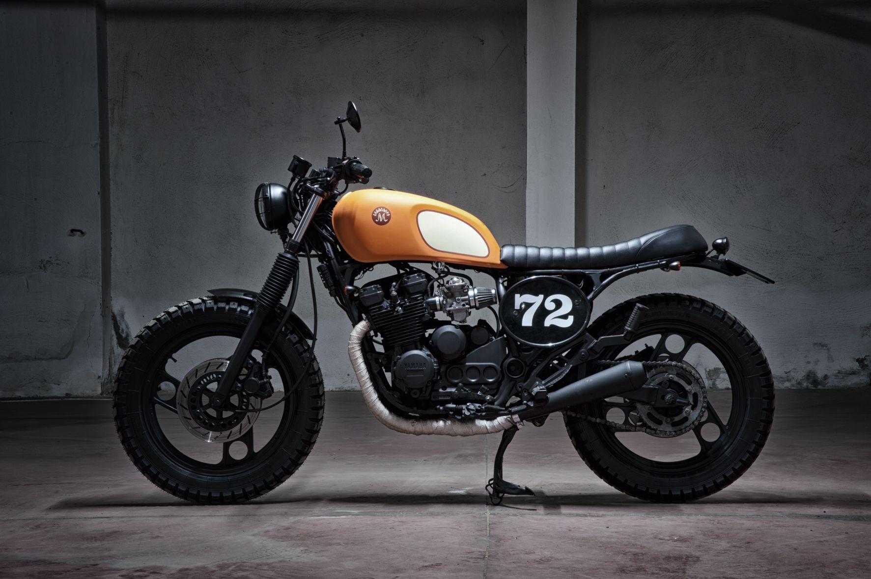 Cet Urban Tracker a été conçu sur la base dune Yamaha XJ