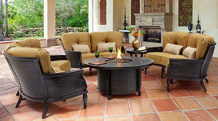 Castelle Aluminum Outdoor Furniture Patio Land Usa