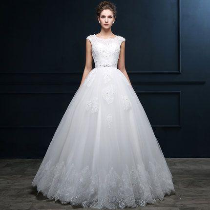 Sang Fei wedding dress new bride wedding winter 2015 fashion shoulder complex Gulei Si Qi word shoulder