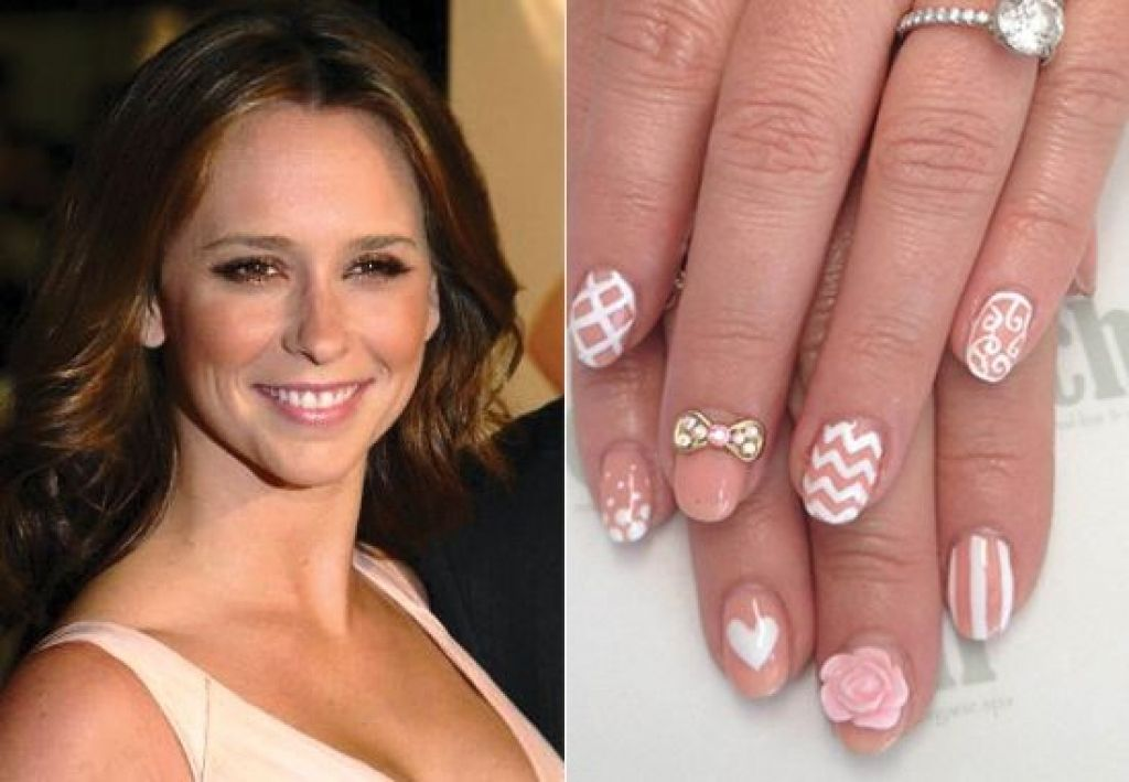 50 Cool Celebrity Nail Designs For 2014   Nail Design Ideaz . - 50 Cool Celebrity Nail Designs For 2014 Nail Design Ideaz