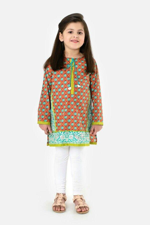 38af54cd6b33f Khaadi kids pakistan | Cuties in 2019 | Kids frocks, Kids shorts ...