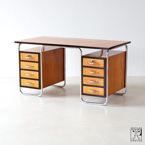 Bauhaus desk by Rudolf Vichr I think I've found the desk