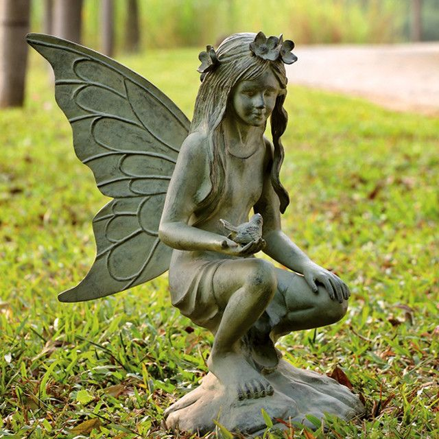 Delightful Garden Fairies Statues All Products / Outdoor / Outdoor Decor / Garden  Statues U0026 Yard Art