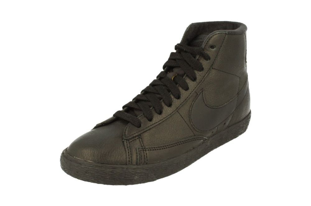 a8507e86473c2 Nike Womens Blazer Mid Se Hi Top Trainers 885315 Sneakers Shoes - Colour  Black Anthracite 001