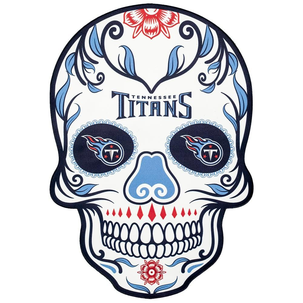 c67f9ffa Applied Icon NFL Tennessee Titans Outdoor Skull Graphic- Small, Blue