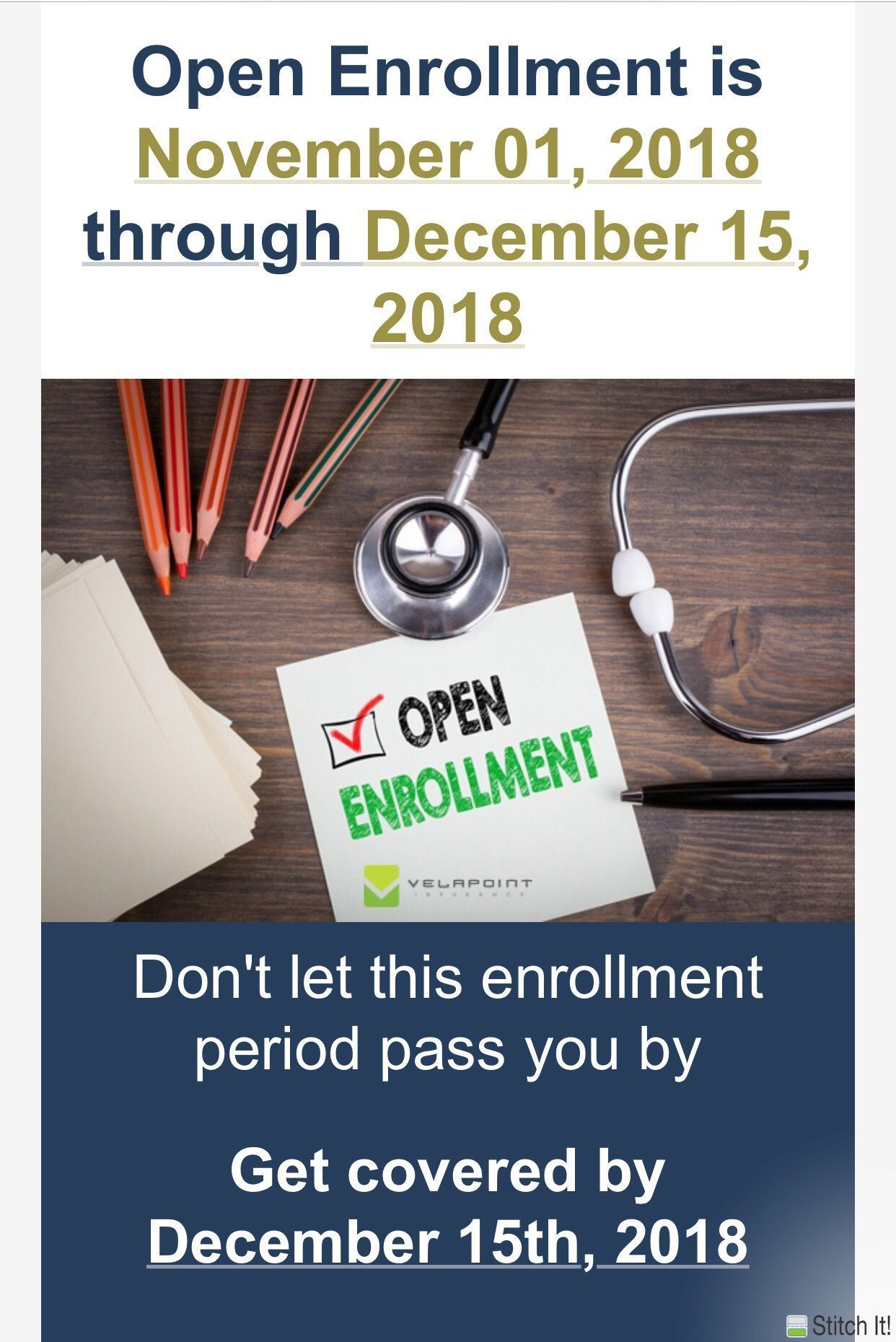 Open enrollment isn't just about purchasing health