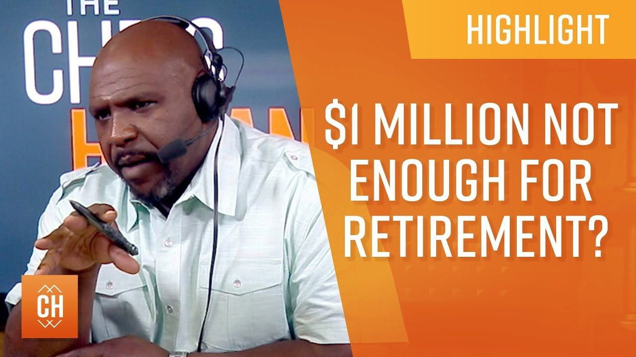 1,000,000 Not Enough To Retire?!? Retirement, Enough is