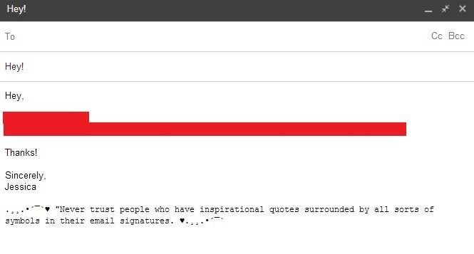 7 Hilarious Email Signatures to Inspire Your SignOff