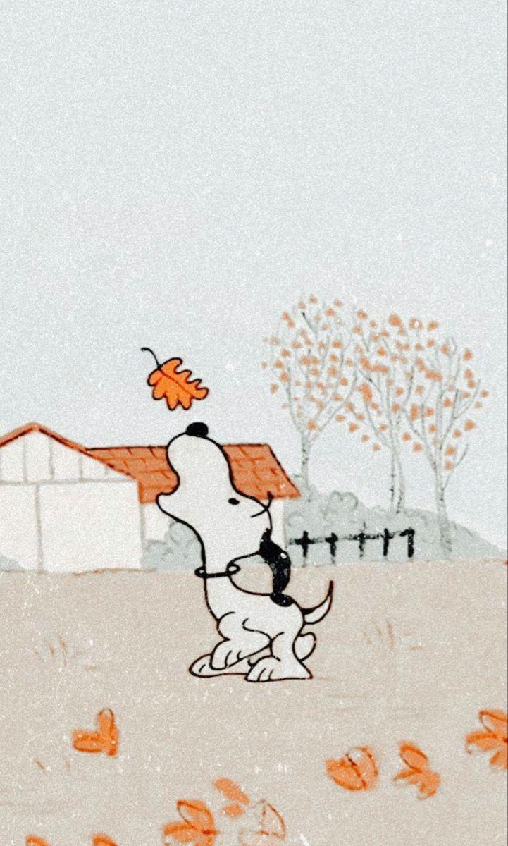 Fall wallpaper in 2020 Cute fall wallpaper, Snoopy