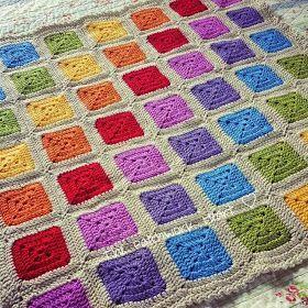 't Bezige Bijtje: Rainbow blanket dl.1