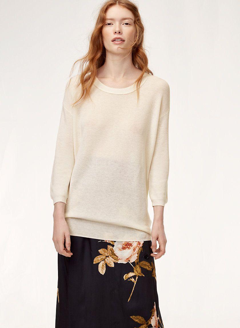 e4516b020194c5 Balzac sweater | oversized | Sweaters, Cotton, Cashmere