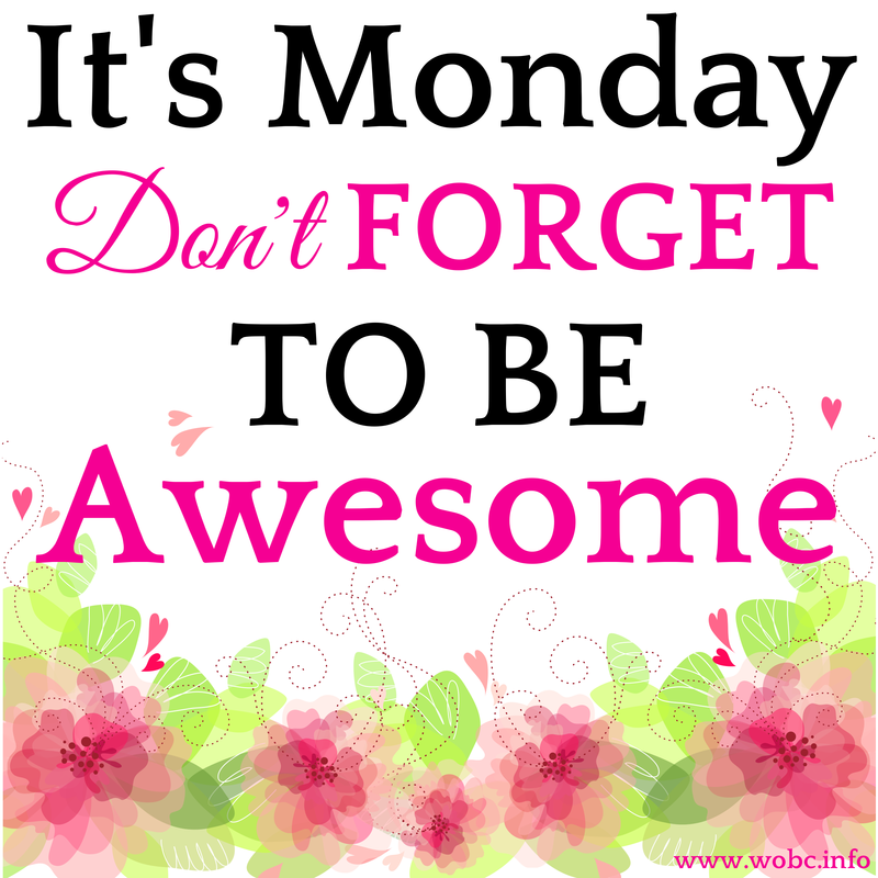 Happy Monday ladies! The WOBC magazine now offers a Business Listing. We have over 8,000 visitors per day and 40,000 page views per day. For $10 you can be listing in our directory that is promoted daily. Go to: http://wobcmagazine.com/customform.aspx?smid=6270