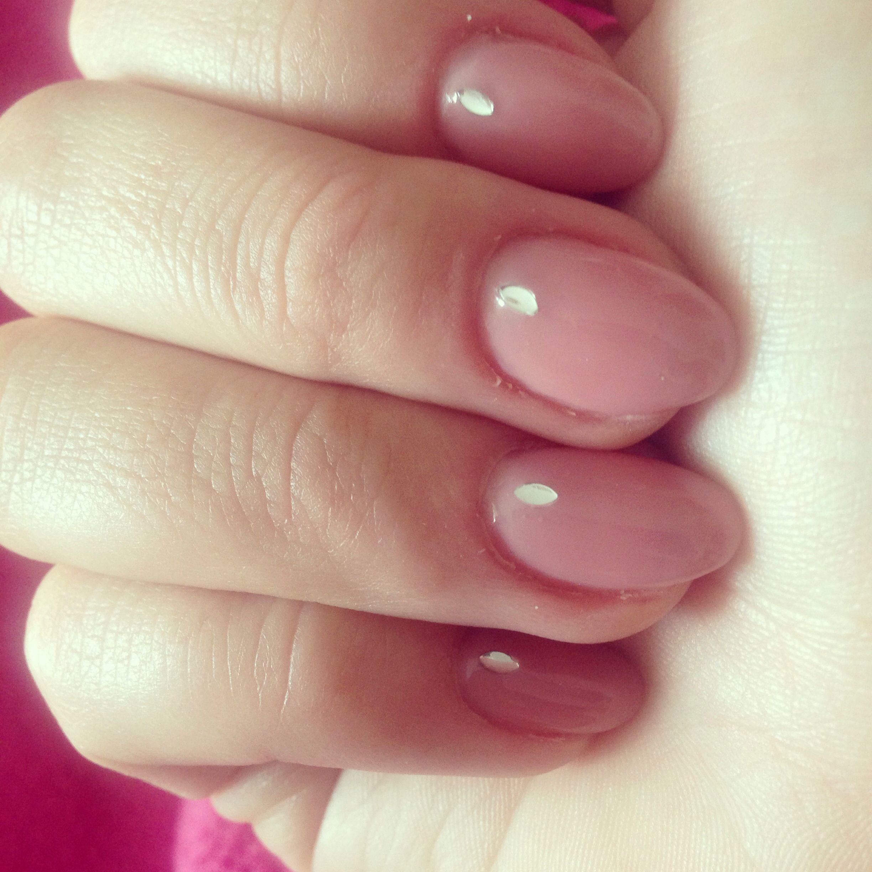 Pink natural almond nails | Nails | Pinterest | Nagelschere