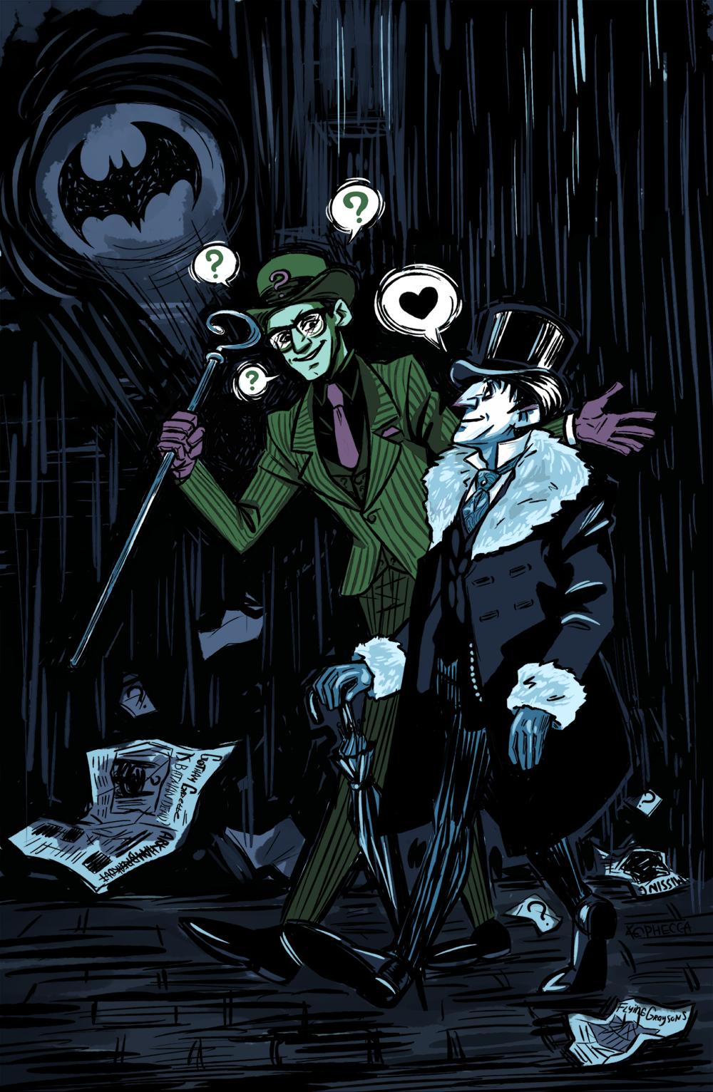 I Love Dc Comics : I love nygmobblepot dc comics gotham riddler city