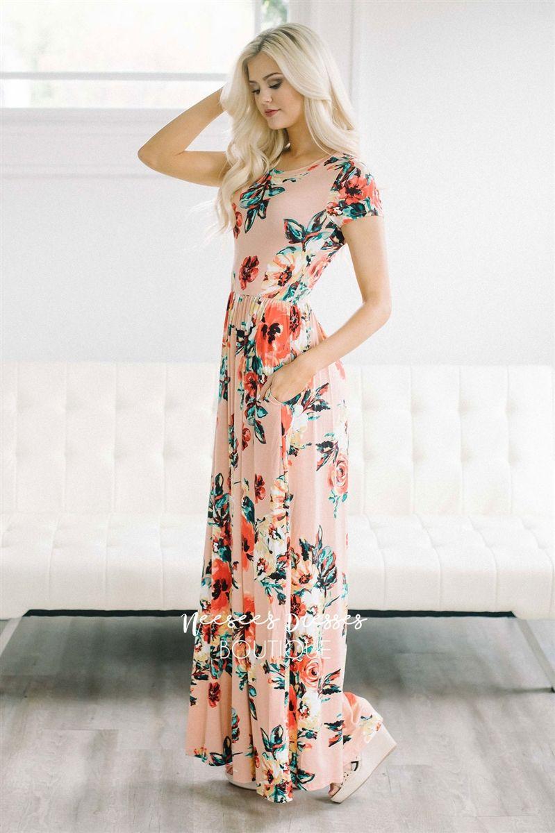 f44ec2c290b Beautiful Floral Print Summer Dresses