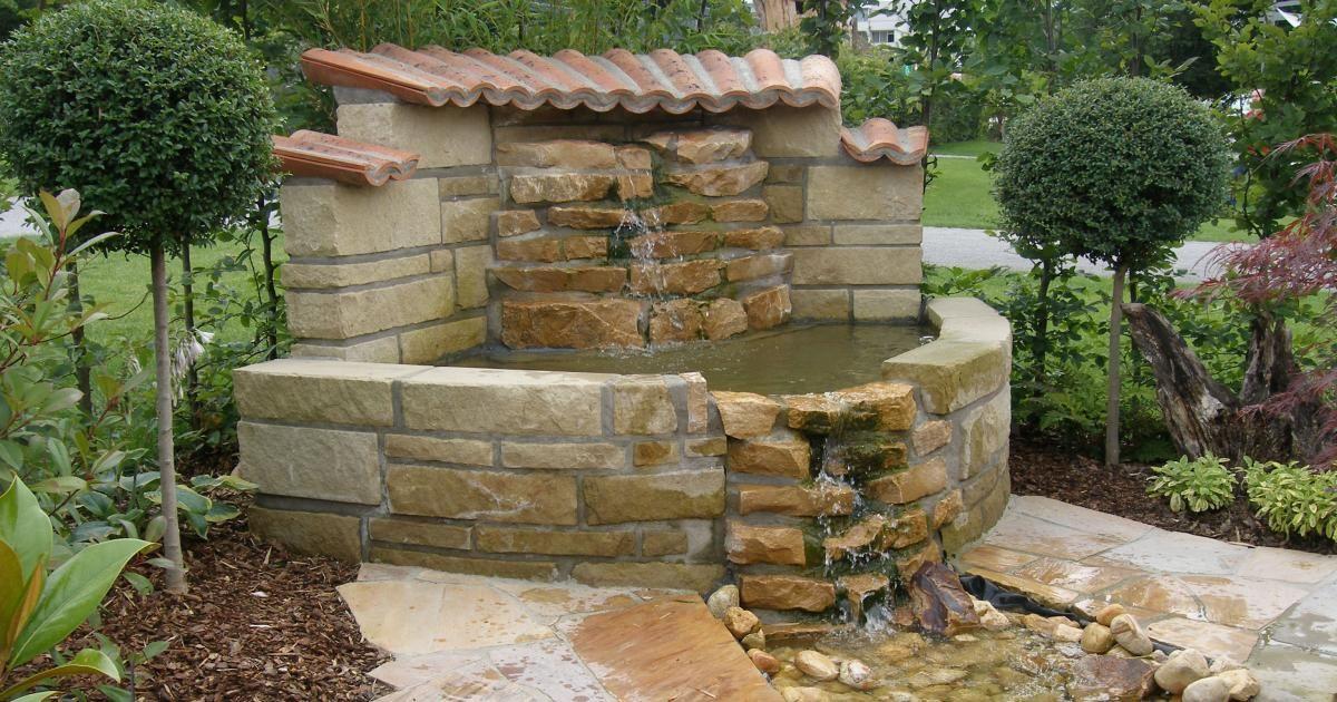 Brunnen Ponds Water Falls Pinterest Water Features In The