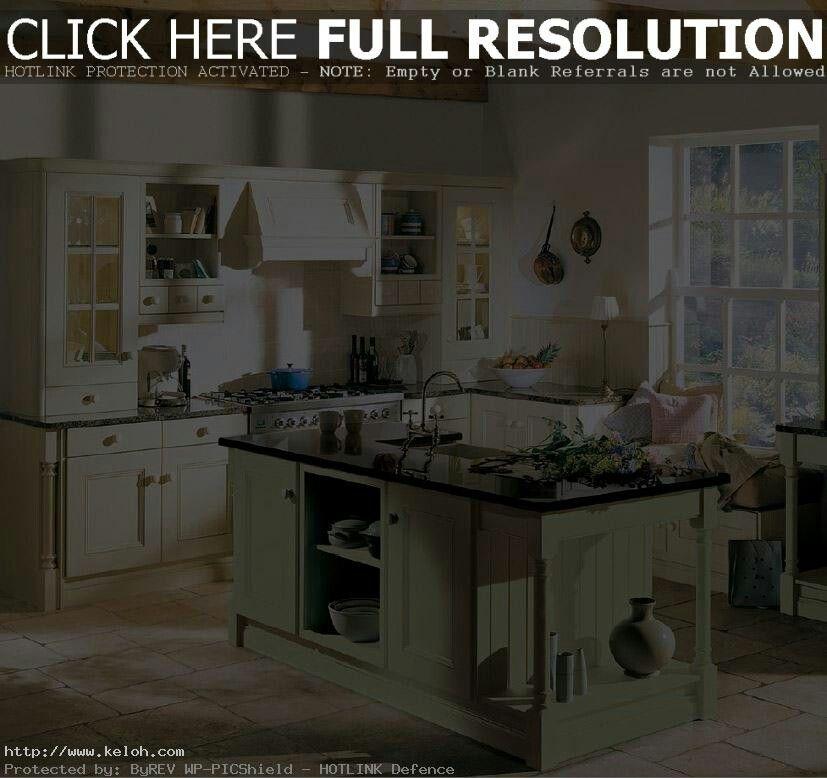 Preciosa cocina combinando dos colores. | French Country style ...