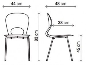 standard dining chair size - Google Search | Chair ...