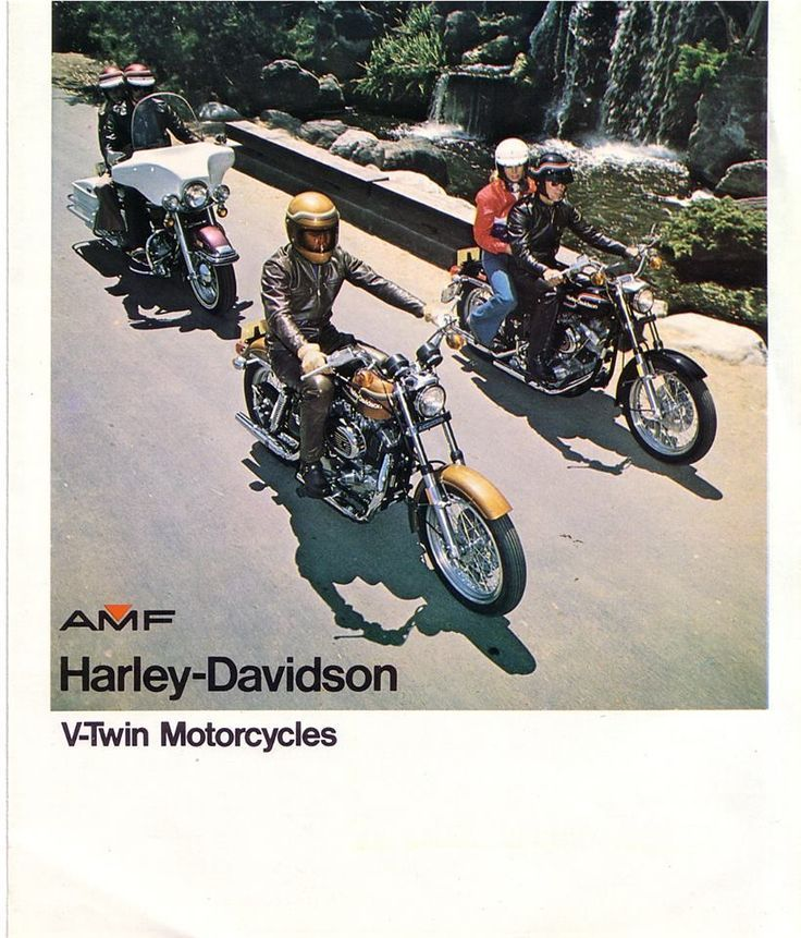 One thing is for sure, the years that Harley-Davidson was owned by