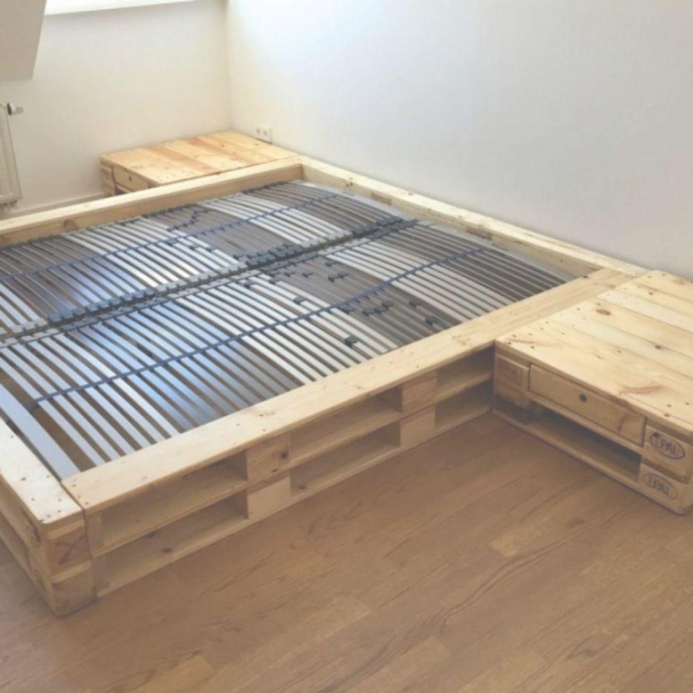Wohndesign Am Besten Gemtlich Bett Aus Europaletten
