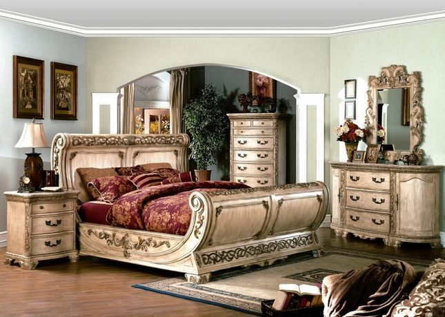 Bedroom Furniture Collection, White Traditional Bedroom Furniture