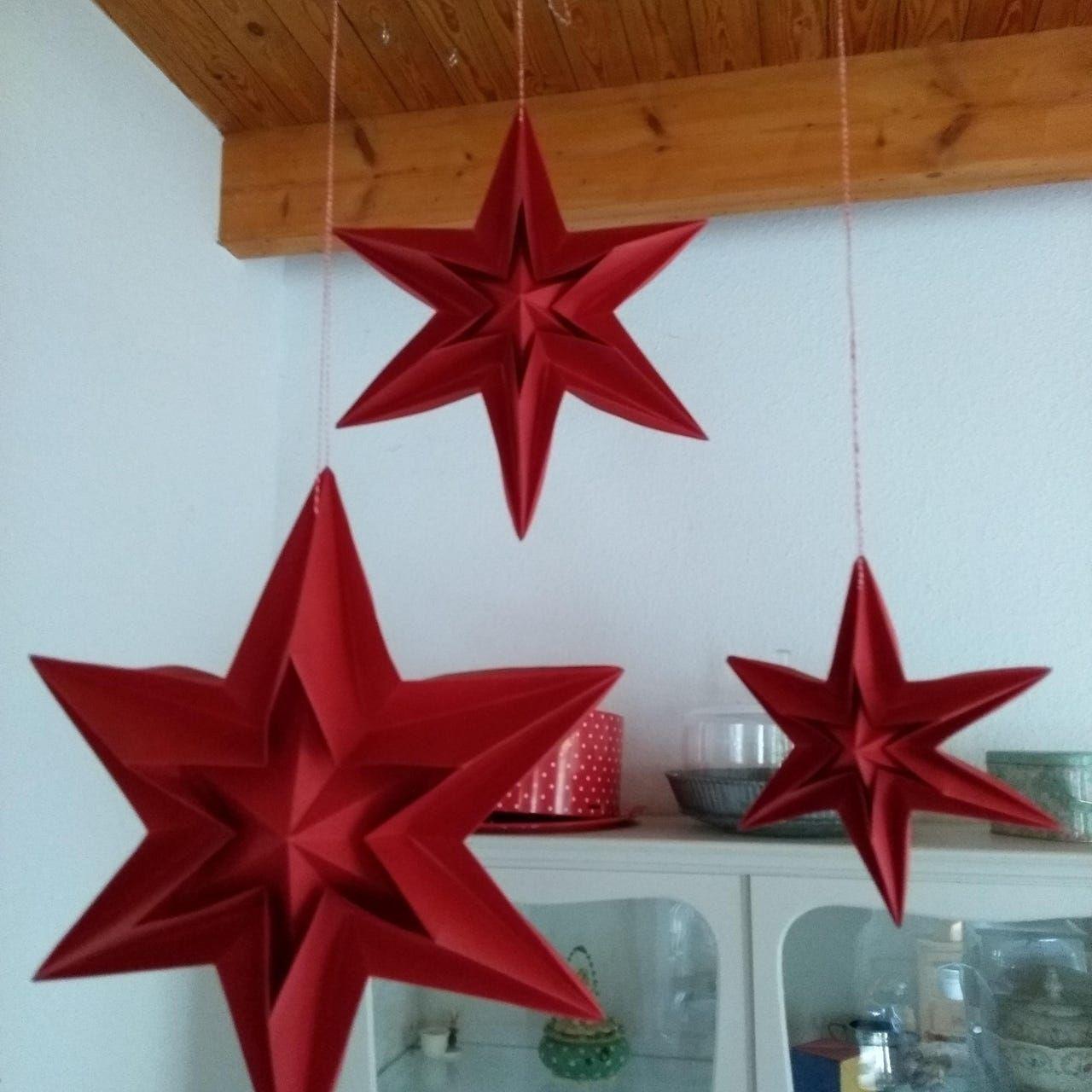 Landlust Stern Basteln Weihnachten Sterne Papier Sterne Basteln Fur Weihnachten Weihnachtsstern Basteln