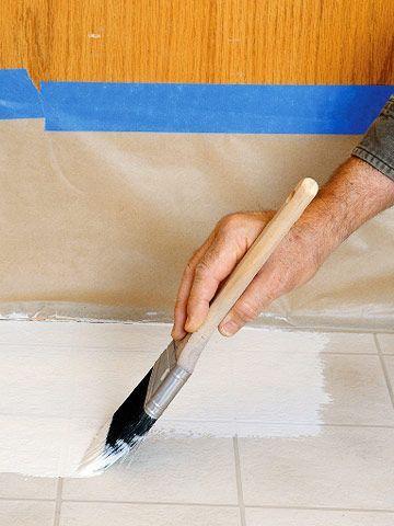 Will A Kitchen Floor Mat Stain Porcelain Tile