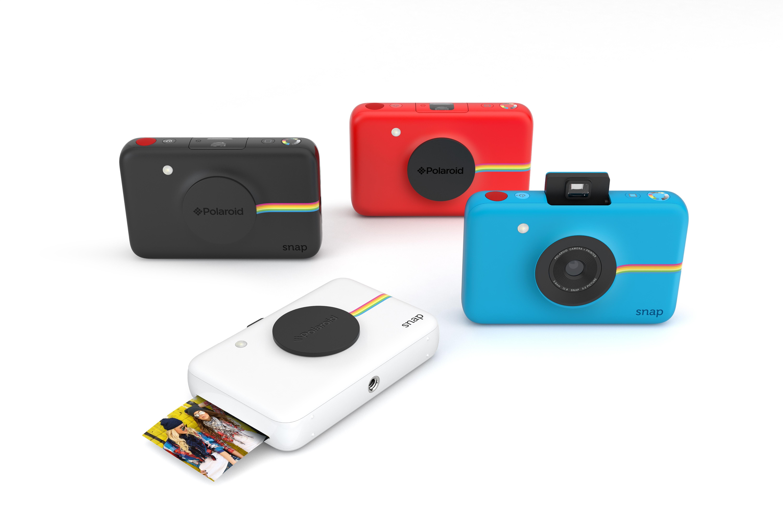 Amazon Com Polaroid Snap Instant Digital Camera White With