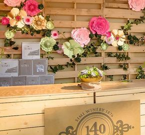 Designs paper flowers, paper flower backdrops, wedding/event decor ...