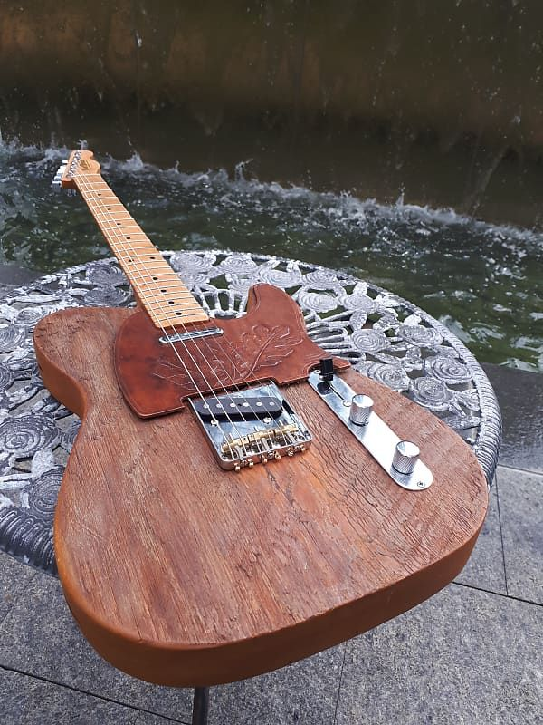 Telecaster • Reclaimed Old Growth Wood Guitar Bad Brian