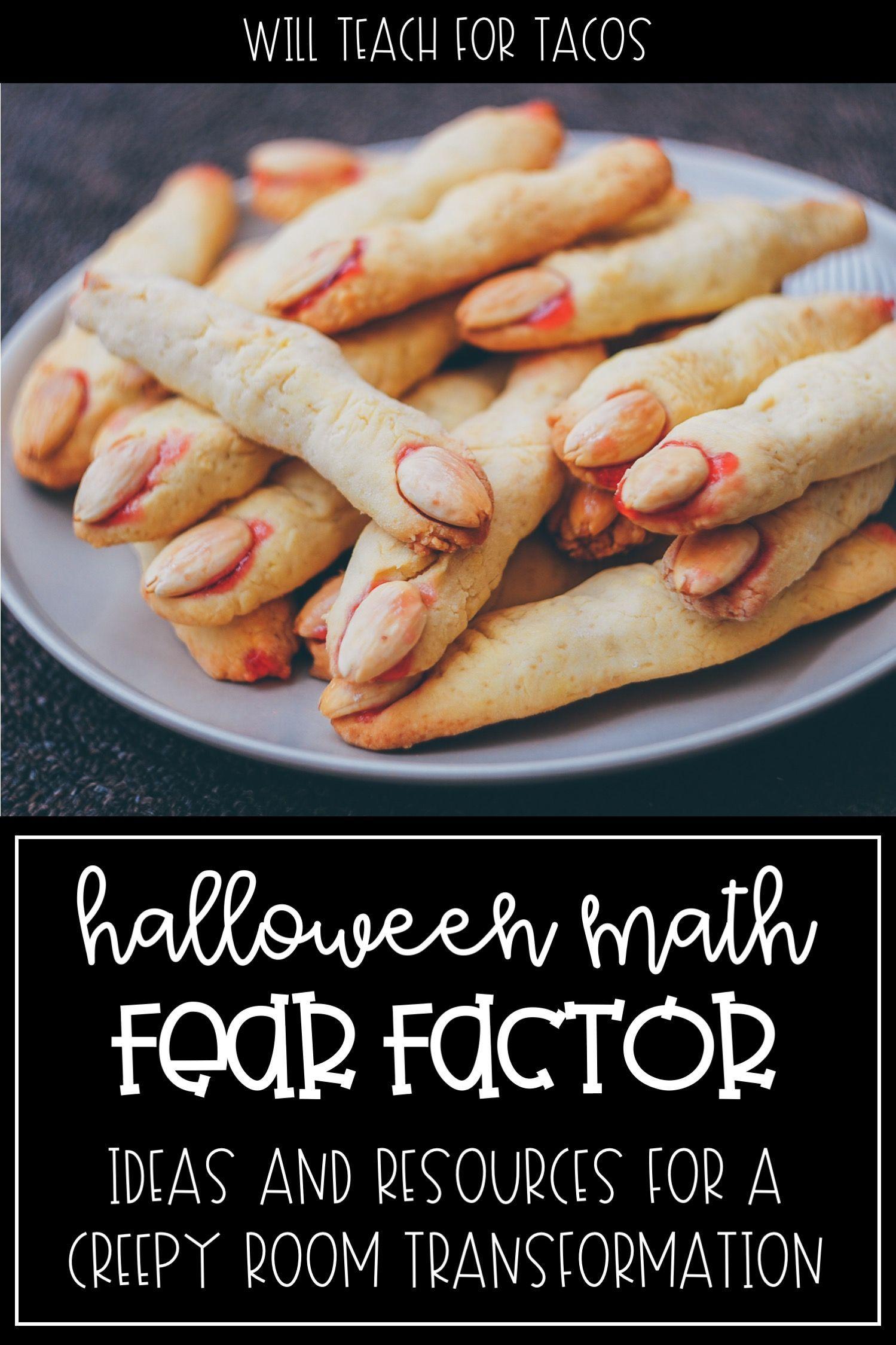 Halloween Math Taskcards