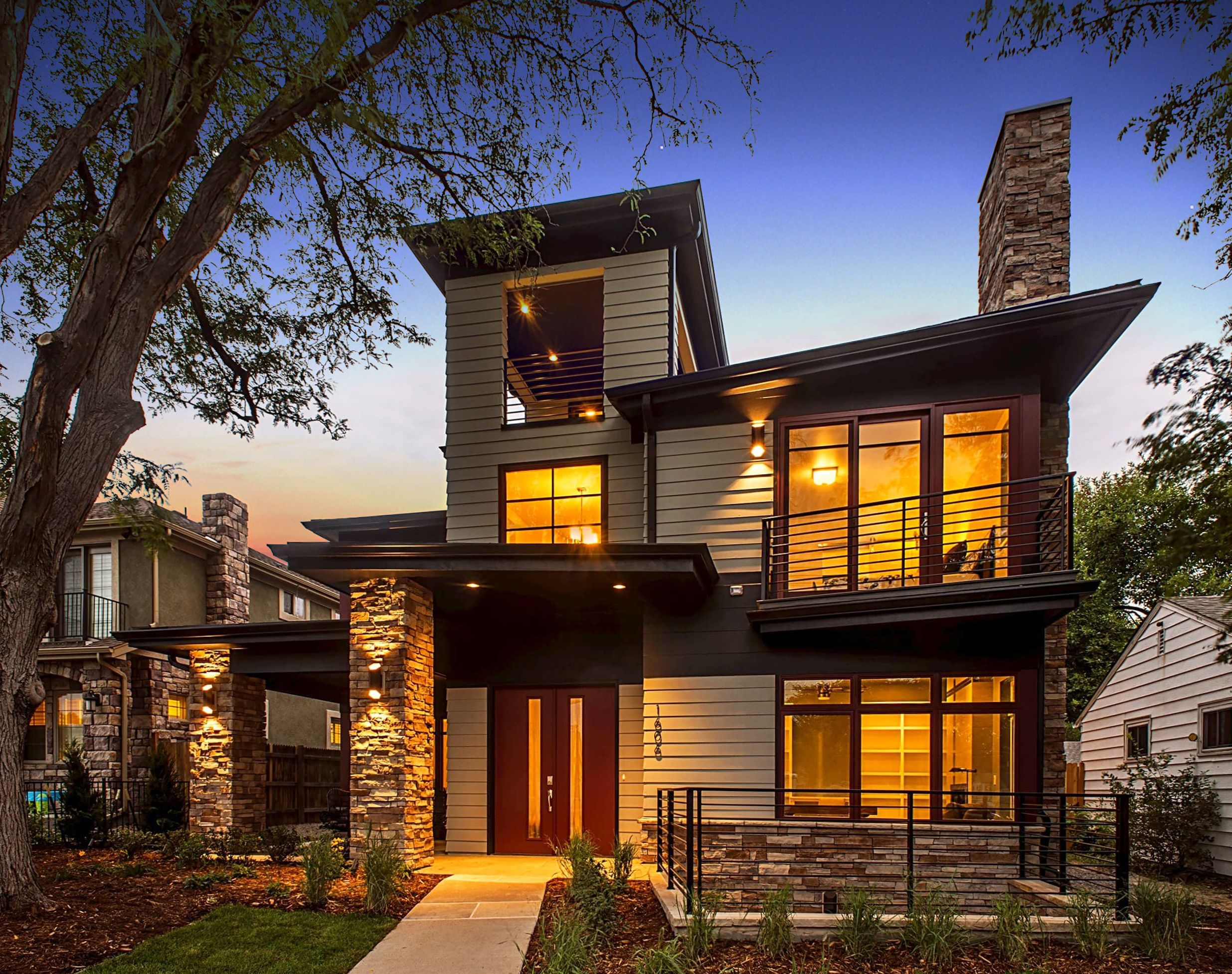 Cory Merrill Contemporary Custom Home By Jackson Design Build In Denver Colorado Fully Accessible Residential Windows Custom Homes Different House Styles