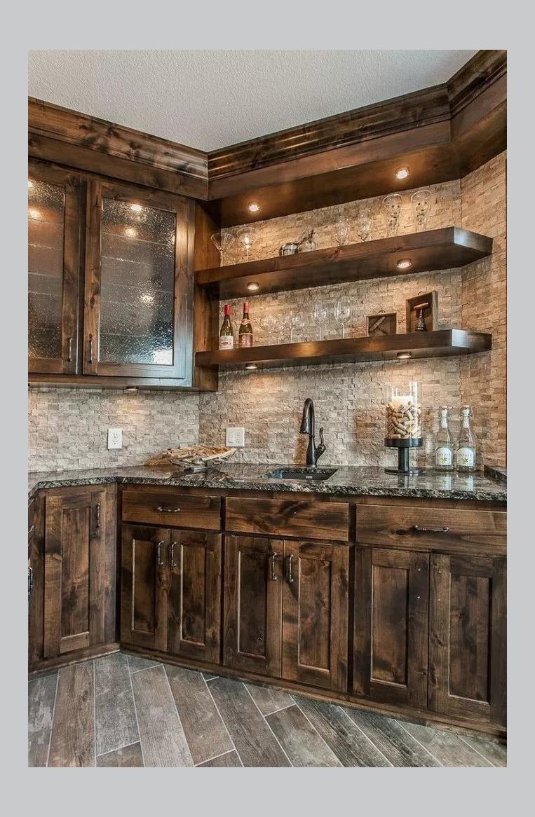 Southern Living Idea House 2017 Part 1 348127 Kitchen Ideas Kitchenideas The Southern Living In 2020 Rustic Cabin Kitchens Rustic Kitchen Rustic Kitchen Design