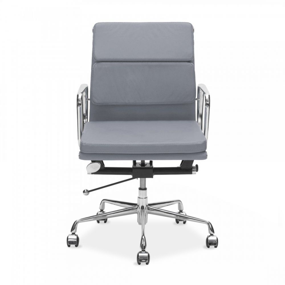 eames style office chairs. Charles Eames Style Grey Short Back Soft Pad Executive Office Chair Chairs