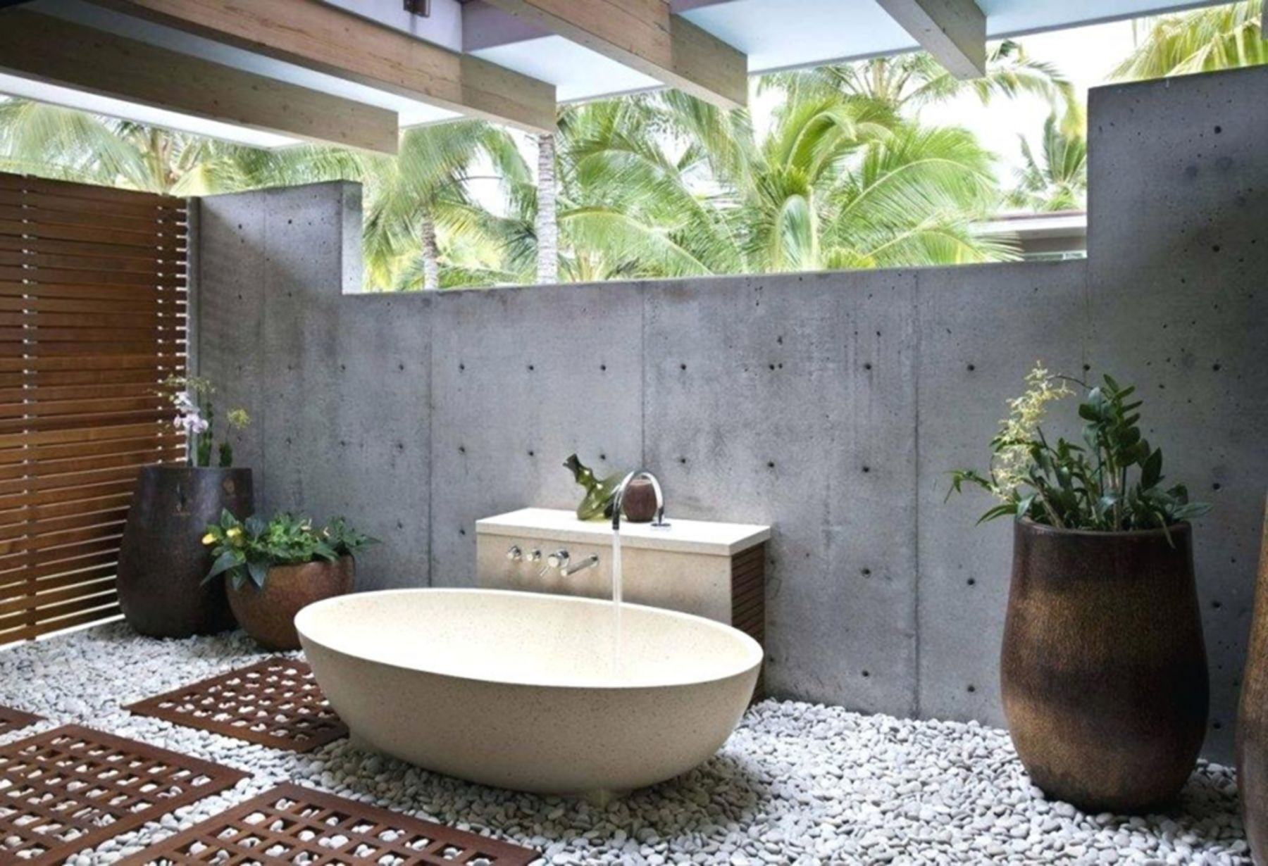 Interesting 15 Outdoor Bathroom Design Ideas For Your Home Outdoor