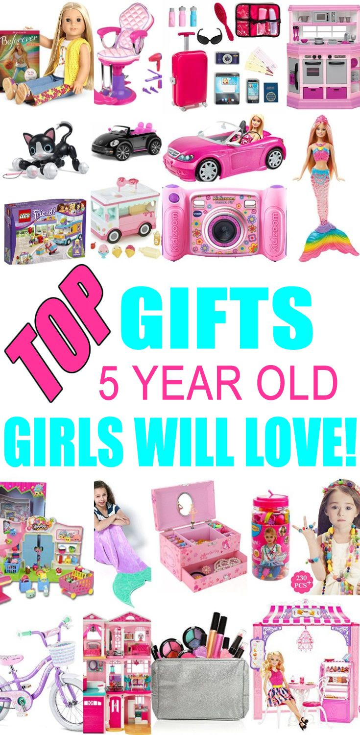 Top Gifts for 5 Year Old Girls Want | 5 year old christmas ...
