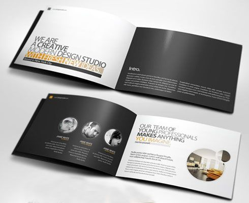 Psd Template This Is Company Profile Psd Template Is Perfect For
